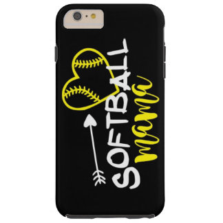 Softball mama phone case