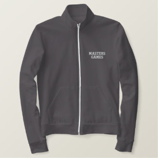 Softball Masters Games embroidery embroidered Jacket