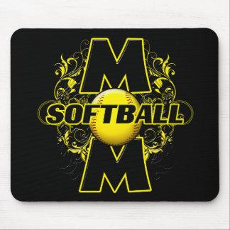 Softball Mom (cross) copy.png Mouse Pad