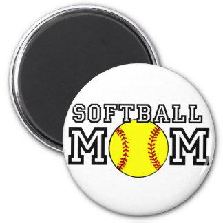 Softball Mom Refrigerator Magnets