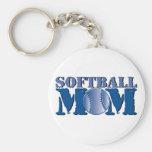 Softball Mum Key Chains