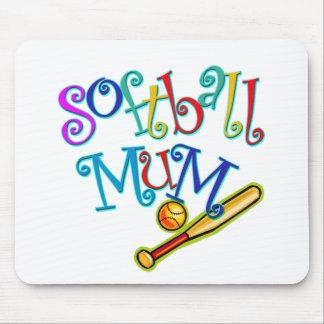 Softball Mum Mouse Pad