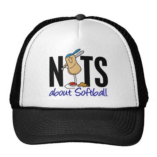 Softball Nut 2 Hats