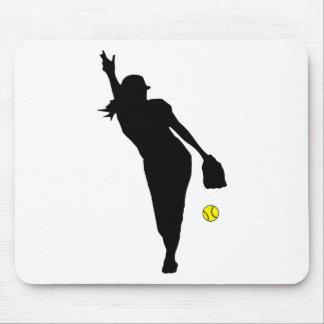 softball Pitch Mousepad