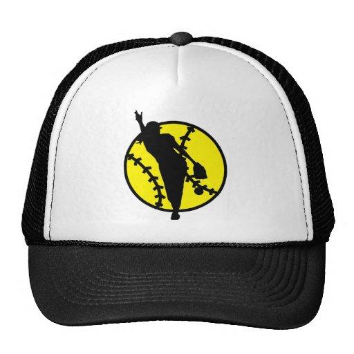 Softball Pitcher Mesh Hats