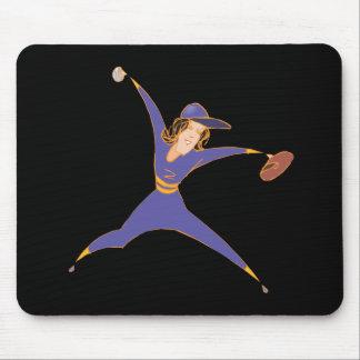 Softball Pitcher Mousepad