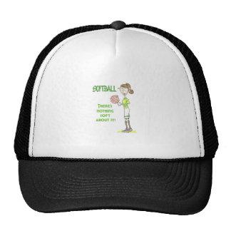 Softball Player Trucker Hat