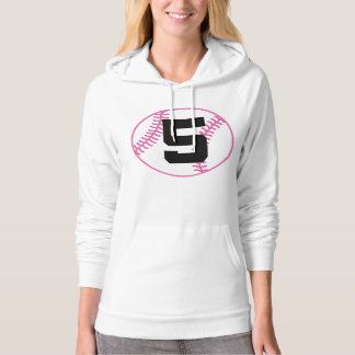Softball Player Uniform Number 5 Gift Hoodie
