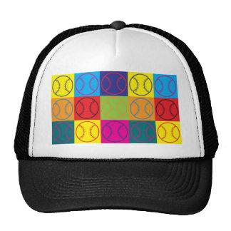 Softball Pop Art Trucker Hat