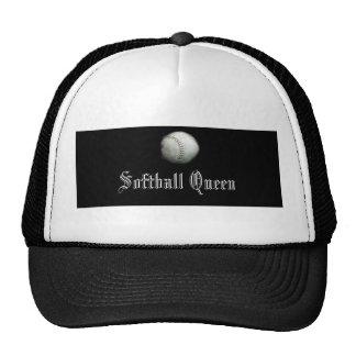 Softball Queen Mesh Hats