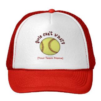 Softball-Red Cap