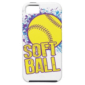 Softball Splatter iPhone 5 Covers