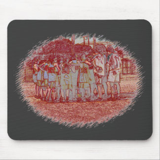 Softball Teamwork Mousepad