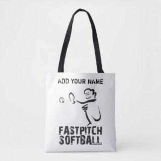 Softball Tote Bag