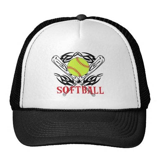 Softball Tribal Mesh Hat