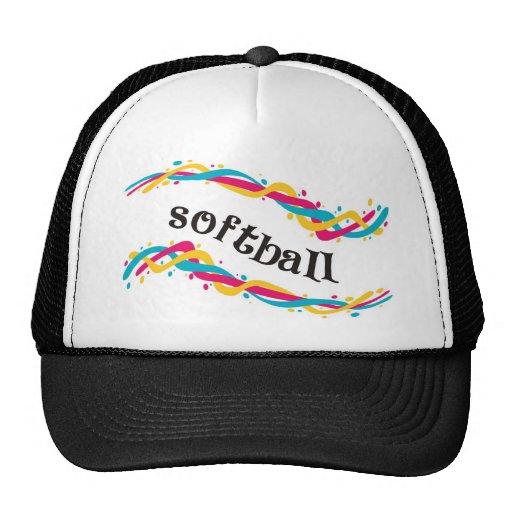 Softball Twists Trucker Hats