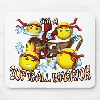 Softball Warrior Mouse Pad