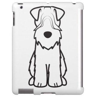 Softcoated Wheaten Terrier Dog Cartoon
