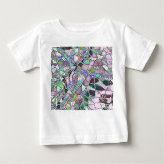 Softer Colors on the Moon Baby T-Shirt