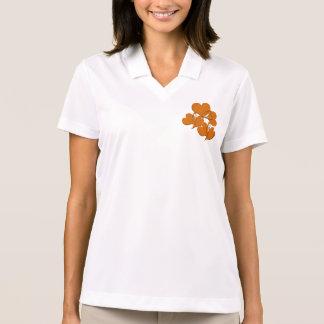 Softer Side of Orange Polo Shirt