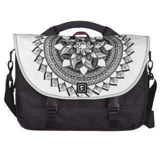 Softly Dancing Mandala Laptop Bags
