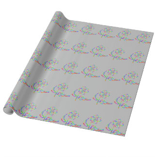 softness glow wrapping paper