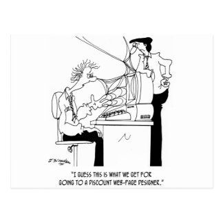 Software Cartoon 6821 Postcard