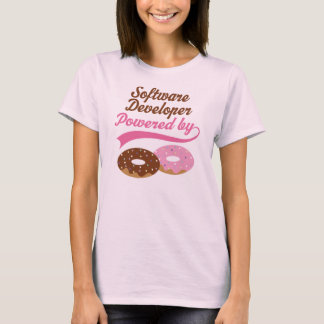 Software Developer Powered By Donuts T-shirt
