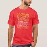 Software Engineer - RED T-Shirt