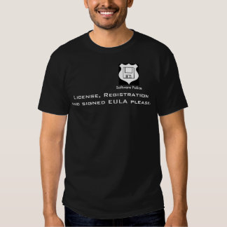 Software Police T-Shirt