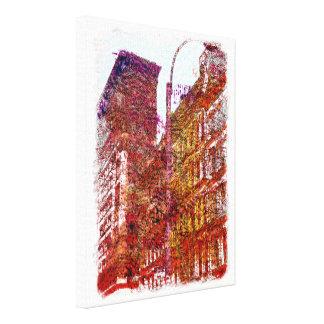 Soho, New York City Canvas Print