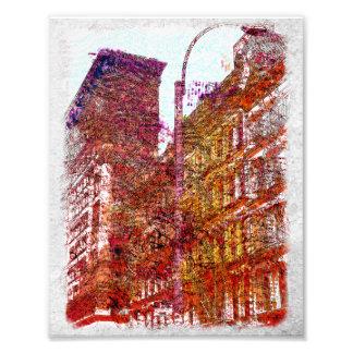 Soho, New York City Photo Print
