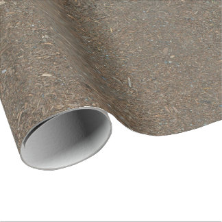 Soil and Bark Dirt Texture Wrapping Paper