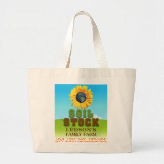 Soil Stock - Ledson's Family CSA Farm Canvas Bag