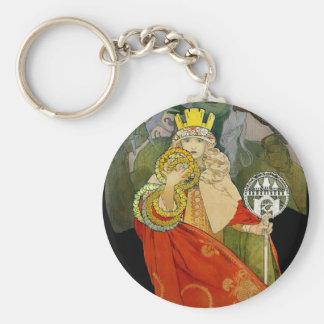 Sokol Falcon Festival 1912 Key Chain