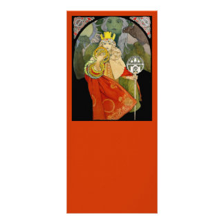 Sokol Festival 1912 Rack Card Template