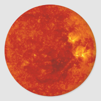 Sol 1 round sticker