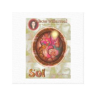 Sol (C)2016  Alicia Villarreal Canvas Print