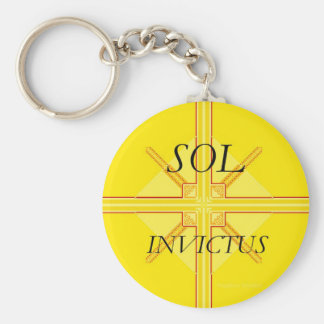 Sol Invictus Keychain