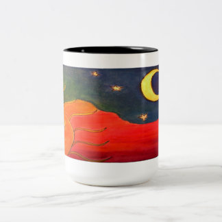 Sol, nappish Two-Tone coffee mug