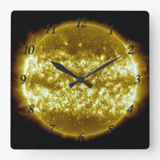 Sol Square Wall Clock
