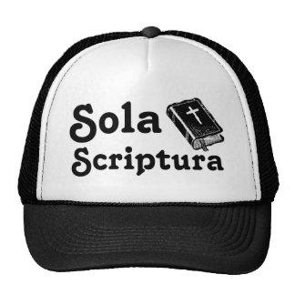 Sola Scriptura Cap
