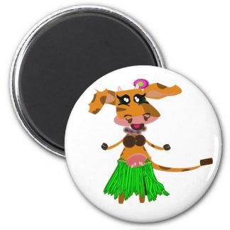 Sola, the hula-hula moo-cow magnet
