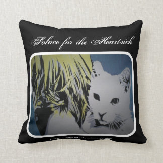 'Solace for Heartsick' (Throw) American MoJo Pillo Cushions