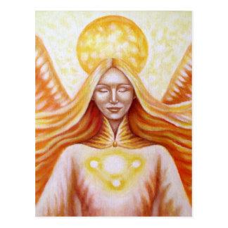 Solar angel 01 (detail) postcard