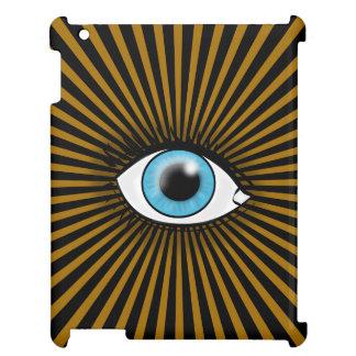 Solar Blue Eye iPad Cases