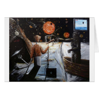 Solar broadcast [Transition - Custom Print! Greeting Card