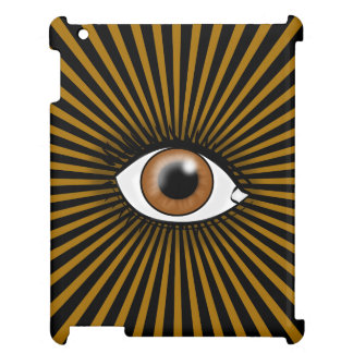 Solar Brown Eye Case For The iPad 2 3 4