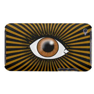 Solar Brown Eye iPod Touch Case-Mate Case