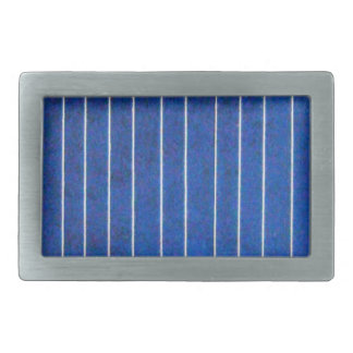 Solar Cell Panel Blue and White Belt Stripe Buckle Belt Buckles
